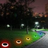 Ändernde Garten-dekorative helle wasserdichte im Freien Solarrasen-Beleuchtung mit Massespitze färben