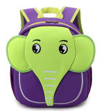 Cartella dell'elefante del fumetto di Neprene per il bambino dei bambini del capretto