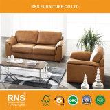 現代家具のホームソファーの革ソファー6028#