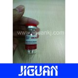Impresa resistente al agua de inyección de productos farmacéuticos 3ml frasco etiquetas