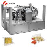 Máquina de embalagem espasmódica da carne com transporte e calor - máquina da selagem