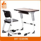 Mobiliário escolar moderno ajustável com liga de alumínio