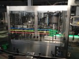 El plástico de cristal automático carbonató la bebida 3 del CO2 en 1 máquina que capsulaba de relleno del lavado