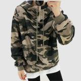 Top Alta homens/mulheres Camouflage Suéter encapuzados casaco