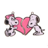 Aluminiumlegierung-Haustier Identifikation-Dekoration gestempelte Hundeplaketten