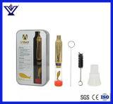 Tubo que fuma de cristal al por mayor para la hierba/el tabaco secos (SYSG-553)