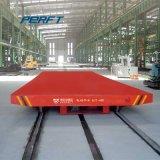 重工業の製造業ラインで加えられるモーターを備えられた転送のトロリートラック