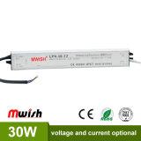 30W 12V imprägniern Fahrer der IP67 LED Stromversorgungen-LED