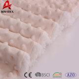 Очень теплые дешевые одеяла Sherpa ватки Micromink в большом части