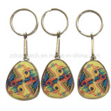 Tag Epoxy Rewritable de 125kHz Em4305/T5577 RFID Keyfob