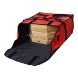 La consegna Heated isolata termica su ordinazione della pizza di grande capienza insacca in linea