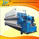 Traitement des eaux usées agricoles de la courroie en acier inoxydable Filtre presse