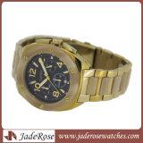 Tache d'acier plaqué or Watch Watch Fashion