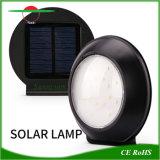 레이다 센서를 가진 115mm 둥근 LED 빛 태양 옥외 점화