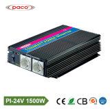 Paco 힘 보호기 1500W 단일 위상 변환장치 24V 220V Pi 1500