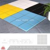 Mattonelle di ceramica della piscina del mosaico del materiale da costruzione (VMC19M103, 310X315mm+D19X6mm)
