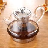 Из нержавеющей стали Heat-Resistant нижней части стекла Teapot борным покрытием