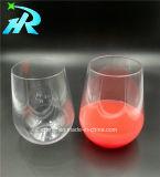 15oz Mok van de Koffie van de Glazen van de Wijn van het huisdier Stemless Bulk