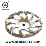 Высокая эффективность L Тип формы Diamond наружное кольцо подшипника колеса сегменты для конкретных шлифовки