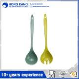 De tamaño personalizado Unicolor melamina cucharas de sopa de utensilios de cocina