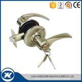 Fechamento de porta cilíndrico da entrada do botão do aço inoxidável do cetim