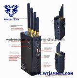 Портативный сотовый телефон и он отправляет сигнала WiFi с вентиляторами