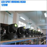 Luz principal móvil del punto LED del modelo 120W del Gobo