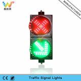 Indicatore luminoso verde rosso personalizzato del segnale stradale dell'indicatore luminoso 200mm della guida