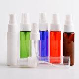 Botella de perfume cosmética del dispensador del jabón líquido del hotel del claro de la botella del aerosol con el casquillo de la bomba (PB11)