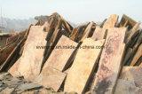 Ardesia di pavimentazione casuale arrugginita di pietra naturale della corrispondenza di parecchie parti per le mattonelle di pavimento esterne