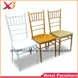 Muebles de Comedor acero y aluminio Chiavari sillas para banquetes de boda/Hotel/