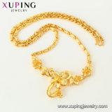44459 Xuping 형식 로즈 금 색깔 호화스러운 넓은 목걸이