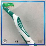 Toothbrush dos adultos do cuidado pessoal com punho antiderrapante