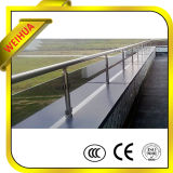 De Treden van de veiligheid/Pool/Tuin/de Balkon Gelamineerde Omheining van het Glas met Ce, CCC, ISO9001