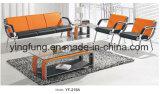 普及した古典的なデザイン革オフィスのパブリックのソファー