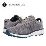 Calçado de desporto de luz e impermeável, sapatos de golfe, campo de tênis, Venda por grosso de Fábrica, sapatos confortáveis, calçado Manufacuture