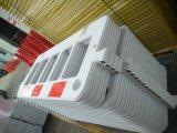 Barreira de tráfego portátil temporária Barreira Rodoviária de plástico