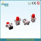 Adattatore beige di colore del duplex multimoda di orma di LC degli adattatori ottici della fibra