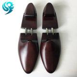熱い販売カラーデザインブラウンの木製の靴の木