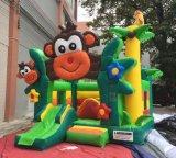 Macaco inflável de 2017 Caslte que salta o Bouncer Bouncy (T1-507A)