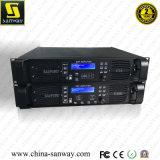 El amplificador profesional con Ethernet, 4in&4out procesador, interfaz del poder más elevado DSP de Digitaces del canal de D10q 4 de Ethernet proporciona a la conexión de WiFi