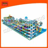 Kids World Indoor Soft Playland with Steep Slide