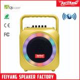 Feiyang/Temeisheng Mini Alto-falante Bluetooth sem fio portátil com tampa de material de injecção coloridos e lidar com F105