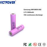 Recargar la batería de ión litio Inr18650-30p 3000mAh Batería Lipo Victpower
