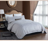 Conjuntos determinados 100% de la hoja de la venta al por mayor de ropa de cama del lecho del hotel del telar jacquar del algodón