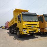販売のためのSinotruk HOWO 6X4のダンプの黄色のダンプカートラック