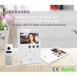 Home Security Campainha 4.3 polegadas de intercomunicação de telefone da porta de vídeo digital