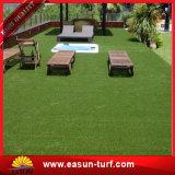 el ajardinar artificial de la hierba del césped de 35m m del césped de la decoración falsa gruesa del verde