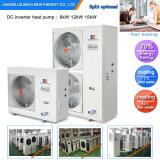 -25c hiver froid Salle de radiateur de chauffage Eau chaude monobloc +55c'Evi 12kw/19kw/35kw/70kw/105kw chauffe-eau pompe à chaleur atmosphérique
