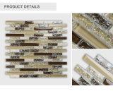Tuile de mosaïque en verre conçue neuve peu coûteuse de Glossy&Tumbled de crépitement